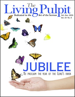 The Living Pulpit Jubilee October - December 2010 Cover